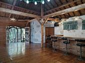 Interior cabin style bar