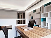 Bright modern home office