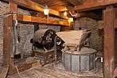 Old Windmill Machinery