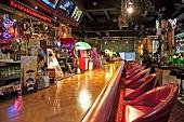 Eine Bar in amerikanischem Stil