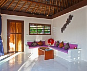 Sparse Tropical Room