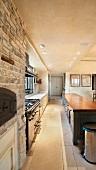 Residential Kitchen Walkway
