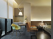 Interior modern studio size apartment style home