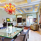 Upscale Dining Room Interior