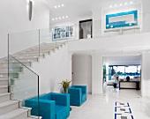 Schöne Treppe in Luxus-Villa