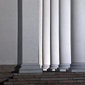 Columns outside a church (Helsinki)