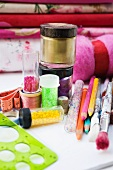 Sewing supplies, fabric and craft supplies