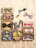 Various bow-ties
