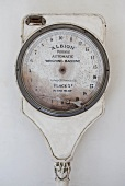 Antique bathroom scales