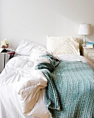 Ungemachtes Bett