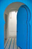 Blue, North-African door