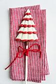Chocolate Christmas tree lolly