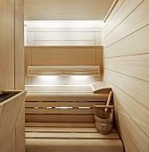 Sauna in Kinesis Spa, London