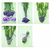 Lavendel-Spindel selbermachen