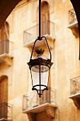 Lantern in front of shop (Beirut, Lebanon)