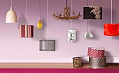 Various modern pendant lamps