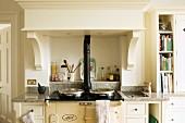 Aga in Landhausküche
