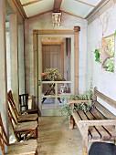Country garden porch
