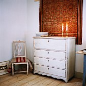 An old chest of drawers, Sweden