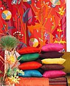 Home interior in happy colors