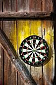 Arrows on dart-board