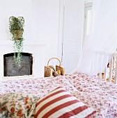 A bedroom, Sweden.