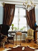 Livingroom, Skane, Malmo, Sweden.