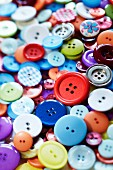 Many, multicoloured buttons