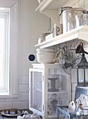 White vintage kitchen (detail)