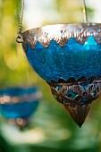 Suspended, Oriental-style lantern