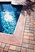 Swimming pool at Laguna Niguel; California; USA