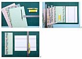 DIY-Anleitung für lampionartige Teelicht-Schirmchen aus gefaltetem und beschnittenem Origami-Papier