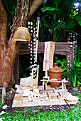 Balinese outdoor shower