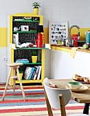 Upcycling - Küchenregal mit Tischchen aus Vintage Wickelkommode