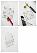 Instructions for making transparent gift bags