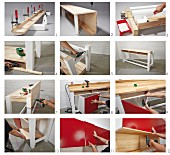 Instructions for building a workbench