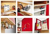 Handy details of DIY workbench
