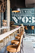 Industrial-style restaurant: 'Potato Shed'