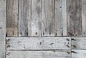 Horizontal and vertical weathered wooden boards