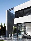 Luxuriöses Haus mit moderner Architektur