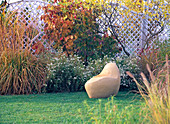 Weatherproof sculpture to sit on