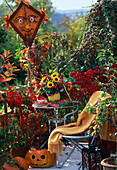 Berry jewelery cotoneaster, blackberry, ornamental apple, Euonymus, barberry,