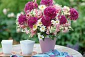 Allium giganteum (garlic) bouquet