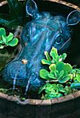 Water feature 'Hippopotamus'