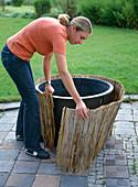 Plant water tub