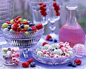 Sugared fruits