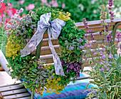 Herb Wreath, Borago (Borage)