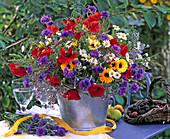Papver (poppy), centaurea (cornflower)