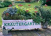 Mobile herb garden