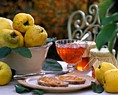 Cydonia (pear and apple quince), quince jelly